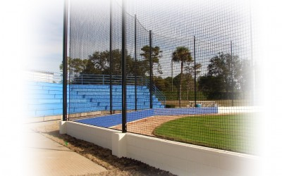 Pole Installation for Batting Cages