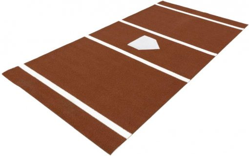 Stance Mat Chalk with home plate