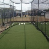 Baseball batting cage nets