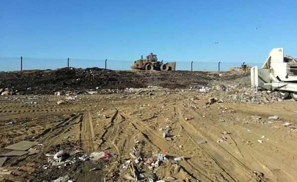 Landfill Netting