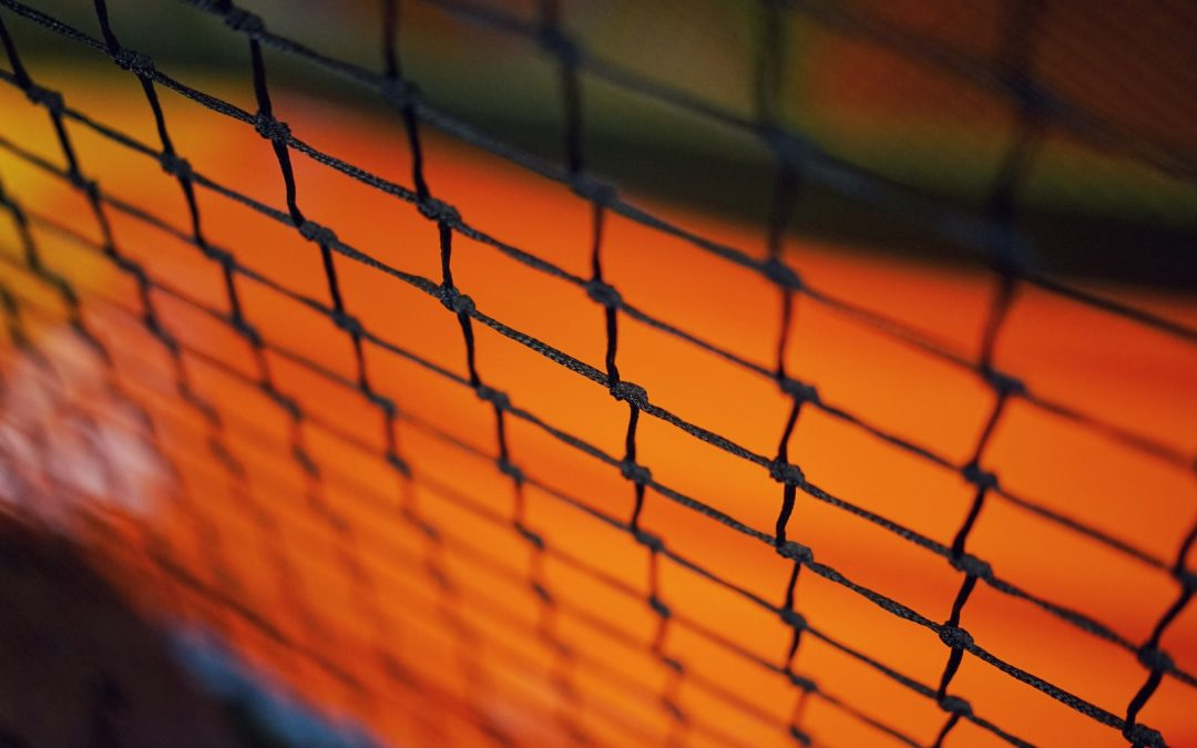 100% American Made Nylon Baseball Nets