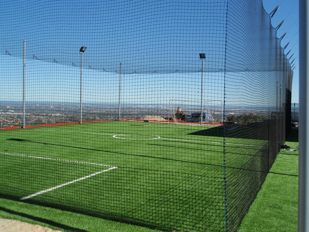 Soccer Cage Netting Custom Made Any Size Shape Or Angle